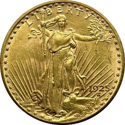 20 Dollars, United States, 1925