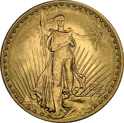 20 Dollars, United States, 1927-S