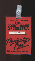 Count Basie Orchestra Backstage Pass