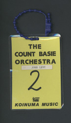 Count Basie Orchestra Badge