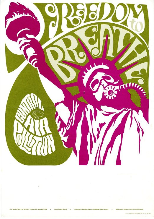 Freedom to Breathe Poster 1969