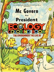 McGovern Campaign Ecology Coloring Book