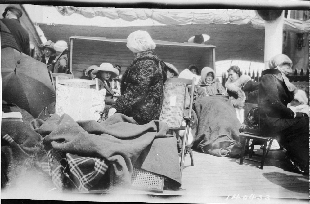 Titanic Survivors Wearing Borrowed Clothes National Museum Of American History