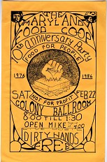 Maryland Food Co-Op 10th Anniversary Poster