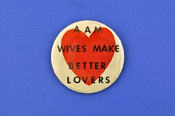AAM Wives, Protest Pin