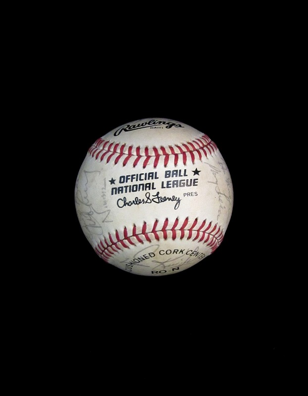 Image 1 for Baseball, signed by the 1984 San Francisco Giants.