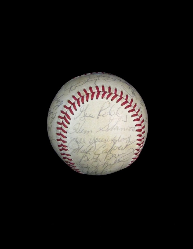 Baseball, signed by the 1984 San Francisco Giants.