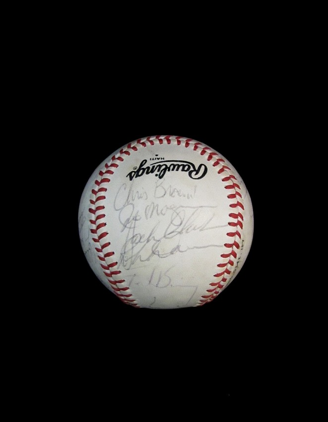 Baseball, signed by the 1982 San Francisco Giants