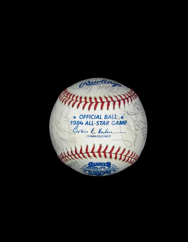 Image 1 for Baseball, signed by 1984 All-Star Game Participants