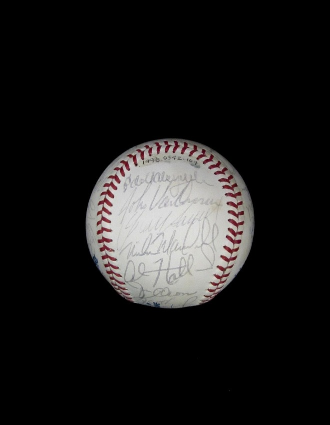 Baseball, signed by 1984 All-Star Game Participants
