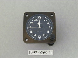 clock, aircraft, bulova accutron