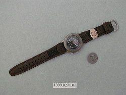 wristwatch, electronic, timex expedition