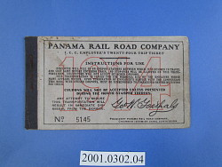 panama railroad tickets