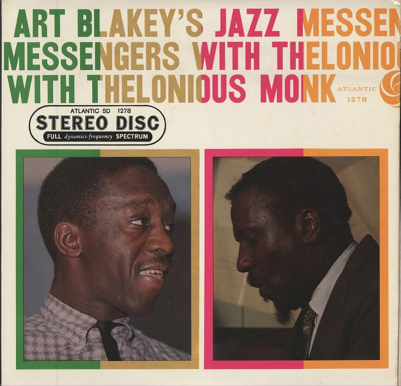 Image 1 for Art Blakey's Jazz Messengers With Thelonious Monk