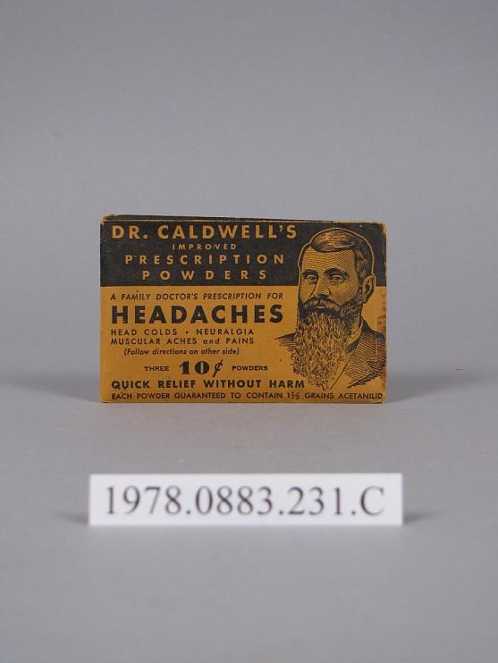 Dr. Caldwell's Improved Prescription Powders