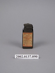 Mercury Iodide Yellow Tablet Triturate, Bottle 100, # 627
