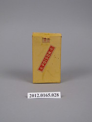 poison labels, box of