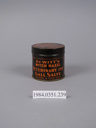 Dewitt's Witch Hazel Veterinary and Gall Salve
