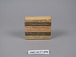 Thyro-Ovarian Co. , No. 4.