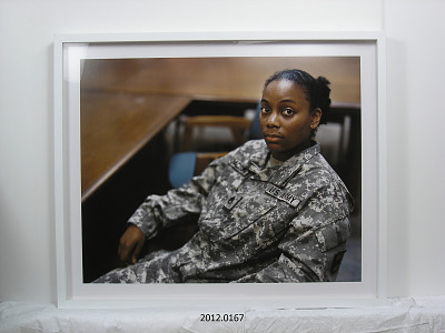 Portrait of Staff Sergeant Chanda Jackson, U.S. Army