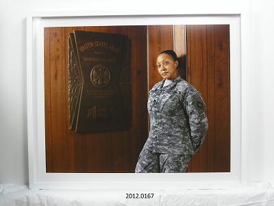 Portrait of Staff Sergeant Shawntel Lotson, U.S. Army