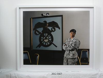 Portrait of First Sergeant Jennifer Love, U.S. Army