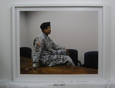 Portrait of Staff Sergeant Phyllis Magee-Lindsey, U.S. Army