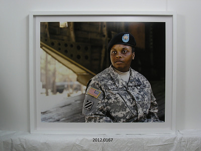 Portrait of Staff Sergeant Connica McFadden, U.S. Army