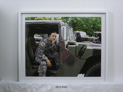 Portrait of Staff Sergeant Jamie Rogers, U.S. Army