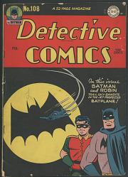Detective Comics No. 108