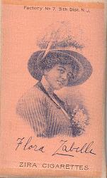 Flora Zabelle Cigarette Silk