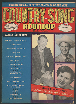 Country Song Roundup, March 1961