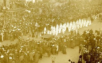 Woman Suffrage Postcard, 1913