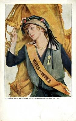 Woman Suffrage Postcard