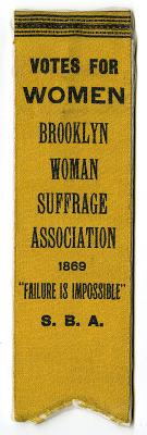 Woman Suffrage Ribbon
