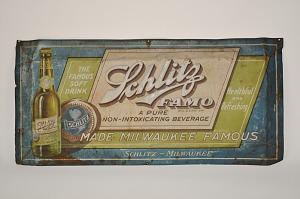 images for Schlitz FAMO Sign, 1920s-thumbnail 1