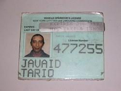 Vehicle Operator's License