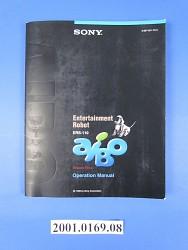 Robot Ers-110 Aibo Memory Stick Operation Manual 1999