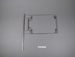 x-ray film frame; surgical instrument