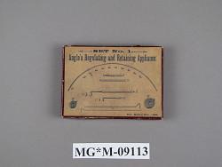 Angle's Regulating and Retaining Appliance, Set No. 1