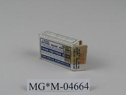 Typhoid-Paratyphoid Vaccine, Bio. 441 - 3 Bulbs of Killed Bacteria Vaccine