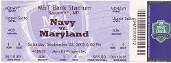 Navy vs. Maryland