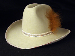 Cowboy hat worn by Juanita Gray