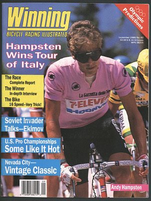 Winning: Bicycle Racing Illustrated