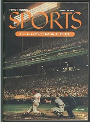 First Issue of Sports Illustrated Magazine