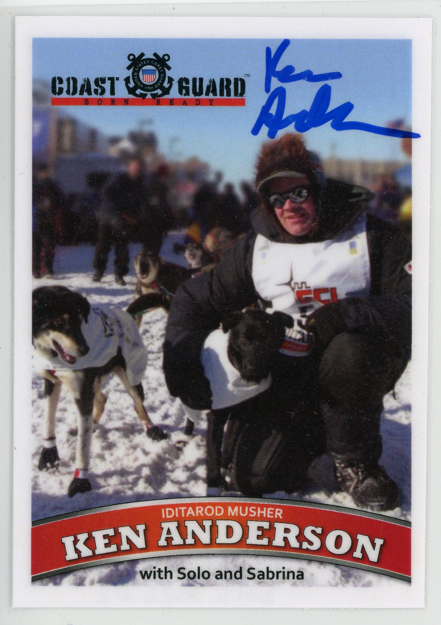 images for Ken Anderson 2011 Iditarod sports card