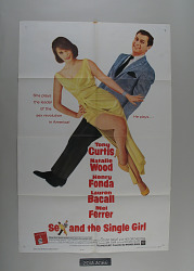 Sex and the Single Girl Movie Poster