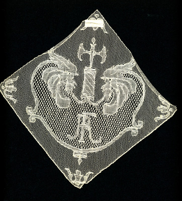 French Rooster Motif