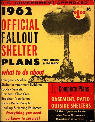 Booklet, Official Fallout Shelter Plans