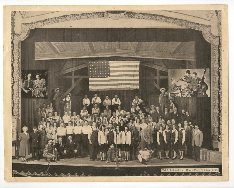 Image 1 for WLS National Barn Dance Cast, October, 1944